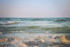 волны текстуры моря конструкции произведения искысства естественные Стоковое Изображение RF