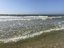 волны текстуры моря конструкции произведения искысства естественные Стоковая Фотография