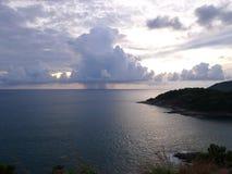 волны шторма моря крышки coas стоковое фото