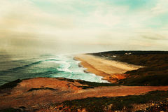 Волны Nazare стоковое изображение rf