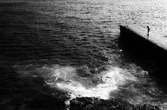 Волн-наблюдатель Стоковые Фотографии RF