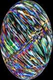 Волокна шарика плодоовощ явора делают красочный абстрактный микрорисунок Стоковое Изображение RF