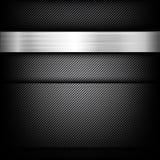 Волокно абстрактной предпосылки темное и черное углерода иллюстрация штока