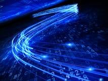 волокно оптически Стоковое Изображение RF