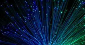 волокно оптически Стоковое Изображение