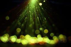 Волоконная оптика освещает абстрактную предпосылку Стоковое Изображение RF