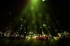 Волоконная оптика освещает абстрактную предпосылку Стоковые Изображения RF