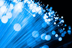 Волоконная оптика Стоковые Фото