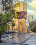 Водонапорная башня исторической достопримечательности старая Стоковые Фото