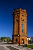 Водонапорная башня красного кирпича Стоковые Фото
