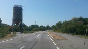 Водонапорная башня обочины Стоковая Фотография RF