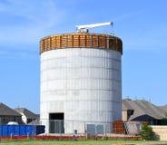 Водонапорная башня под конструкцией Стоковое Фото