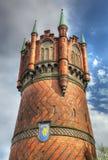 Водонапорная башня Ростока, Германии стоковые изображения