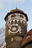 Водонапорная башня - символ города Svetlogorsk (до Rauschen 1946). Область Калининграда, Россия Стоковые Изображения RF