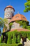 Водонапорная башня - символ города Svetlogorsk (до Rauschen 1946). Область Калининграда, Россия Стоковое Изображение RF