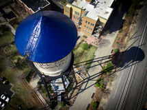 Водонапорная башня Arvada городка Olde Стоковые Фотографии RF