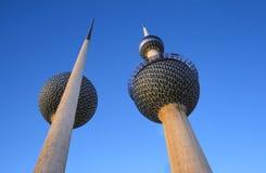Водонапорные башни Кувейта Стоковые Изображения RF