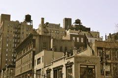 Водонапорные башни на верхней части Стоковое Изображение RF