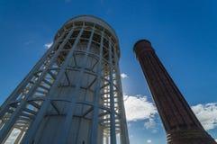 Водонапорные башни стоковая фотография