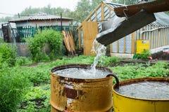 Водоотводная труба дома Стоковое Изображение