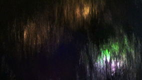 Водопад абстрактной предпосылки красочный сток-видео
