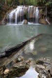 Водопад Азия Таиланд Erawan Стоковая Фотография
