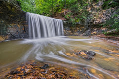 Водопад бега индейца Стоковое Изображение