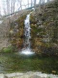 Водопад бухты рая Стоковая Фотография