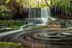 Водопад Буша Стоковое Изображение