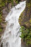 Водопад близкий вверх в ряде Annapurna, Гималаях, Непале Стоковые Фото