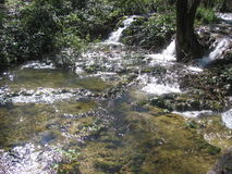 Водопад весной Стоковое Изображение RF