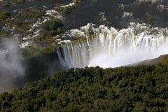 Водопад Виктория Стоковое Фото