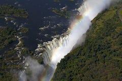 Водопад Виктория Стоковое Изображение