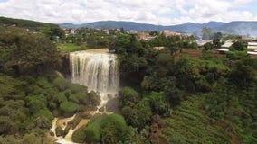 водопад Вьетнама видеоматериал
