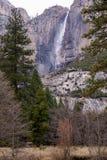 Водопад в горах Стоковое Фото