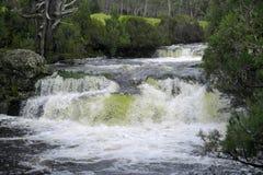 Водопад в горе вашгерда Стоковые Изображения RF