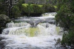 Водопад в горе вашгерда Стоковые Изображения