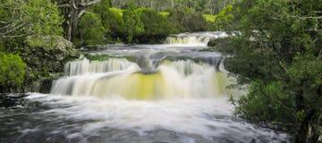 Водопад в горе вашгерда Стоковая Фотография RF