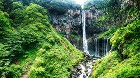 Водопад в лете, Nikko Kegon, Tochigi Стоковое Изображение RF