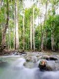 Водопад в изумрудном бассейне 3 Стоковое Изображение RF