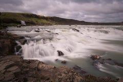 Водопад в Исландии Стоковое Изображение RF