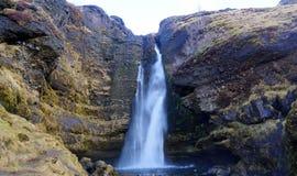 Водопад в Исландии Стоковые Фото