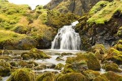 Водопад в Исландии Стоковое Изображение
