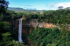 Водопад в Маврикии стоковое фото