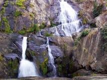 Водопад в национальном парке, Таиланде Стоковые Изображения RF