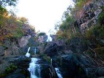 Водопад в национальном парке, Таиланде Стоковая Фотография