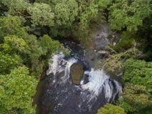Водопад в острове Палау стоковое фото