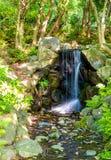 Водопад в парке Maruyama - Киото Стоковое Изображение RF