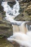 Водопад в пиковом национальном парке района Стоковые Изображения RF