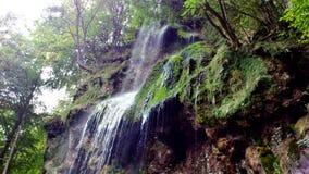 Водопад в плохом Urach, Германии Стоковые Изображения